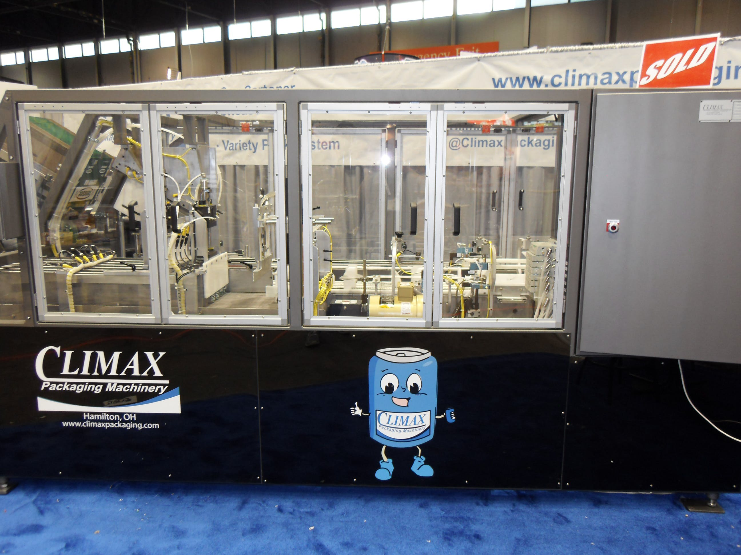 Climax Packaging Machinery CanDo 360 - sold by Climax Packaging Machinery