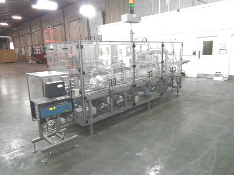 Used MGS HIS-2400 Fully Automatic Case Packer Case packer sold by Sigma Packaging