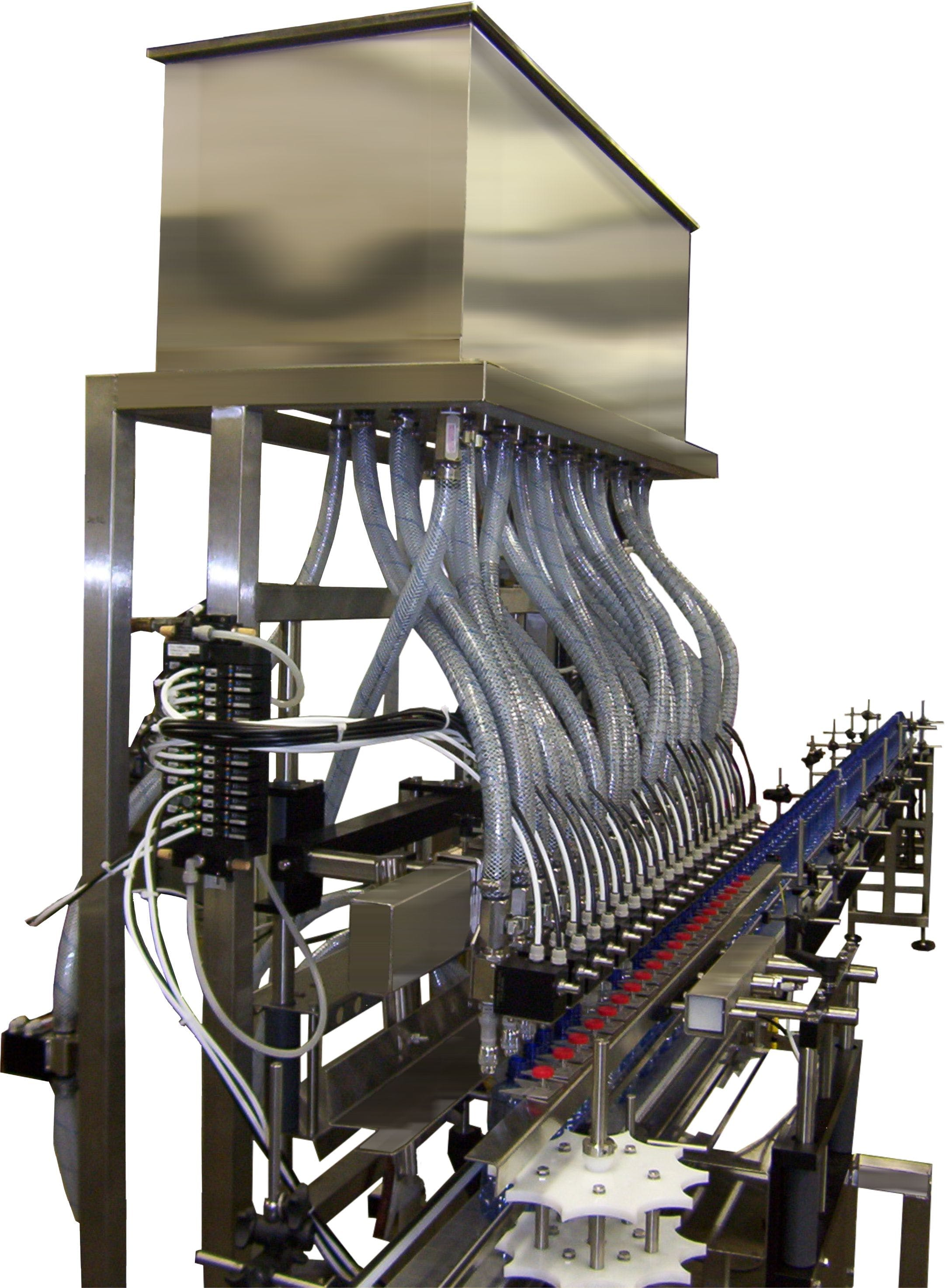 Gravity Filler Bottle filler sold by E-PAK Machinery, Inc.
