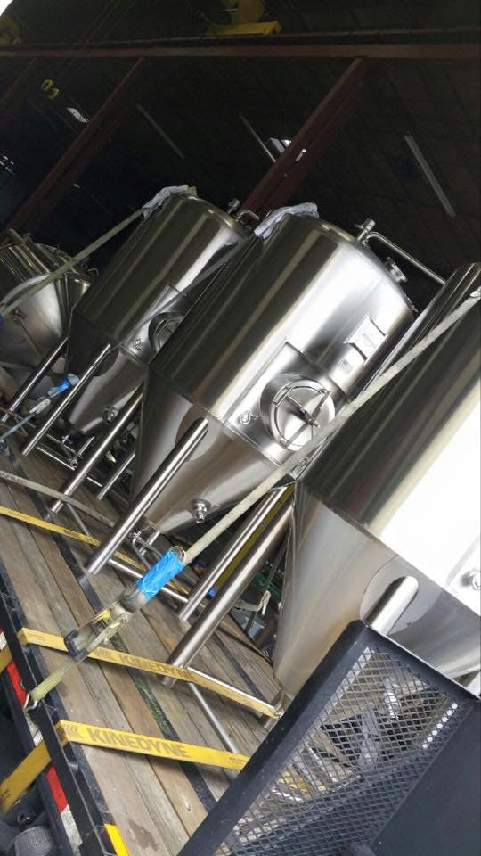 8 BBL Fermenters Fermenter sold by BrewFab LLC