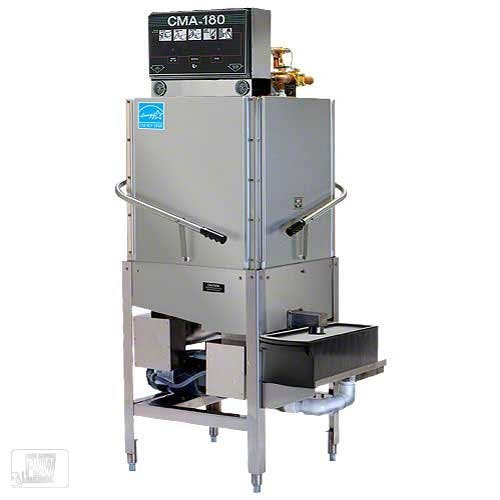 CMA Dishmachines - CMA-180C 60 Rack/Hr Door-Type Corner Dishwasher Commercial dishwasher sold by Food Service Warehouse