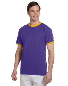 T1396 Champion 5.2 oz. Ringer T-Shirt Promotional shirt sold by Lee Marketing Group