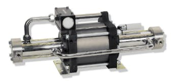 Maximator DLE2-5 Air Driven Gas Booster Air compressor sold by High Pressure Technologies