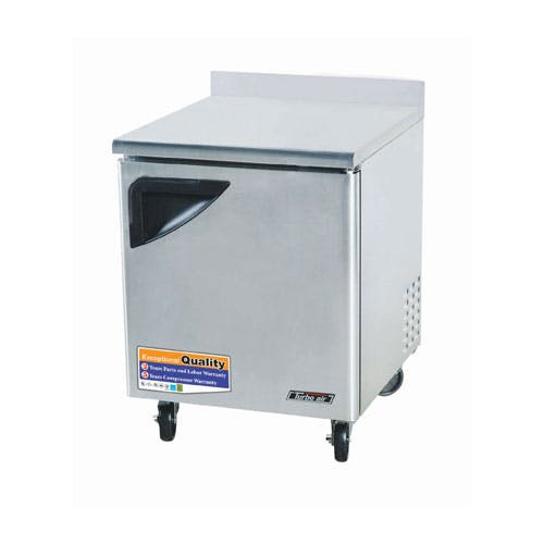 "Turbo Air - TWR-28SD 28"" Worktop Refrigerator – Super Deluxe Series Commercial refrigerator sold by Food Service Warehouse"
