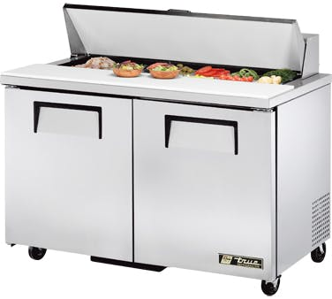 "2 Door 48"" Refrigerated Sandwich Prep Table Food prep table sold by ChefsFirst"