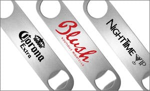 Stainless Steel Bottle Opener Bottle opener sold by BarProducts.com