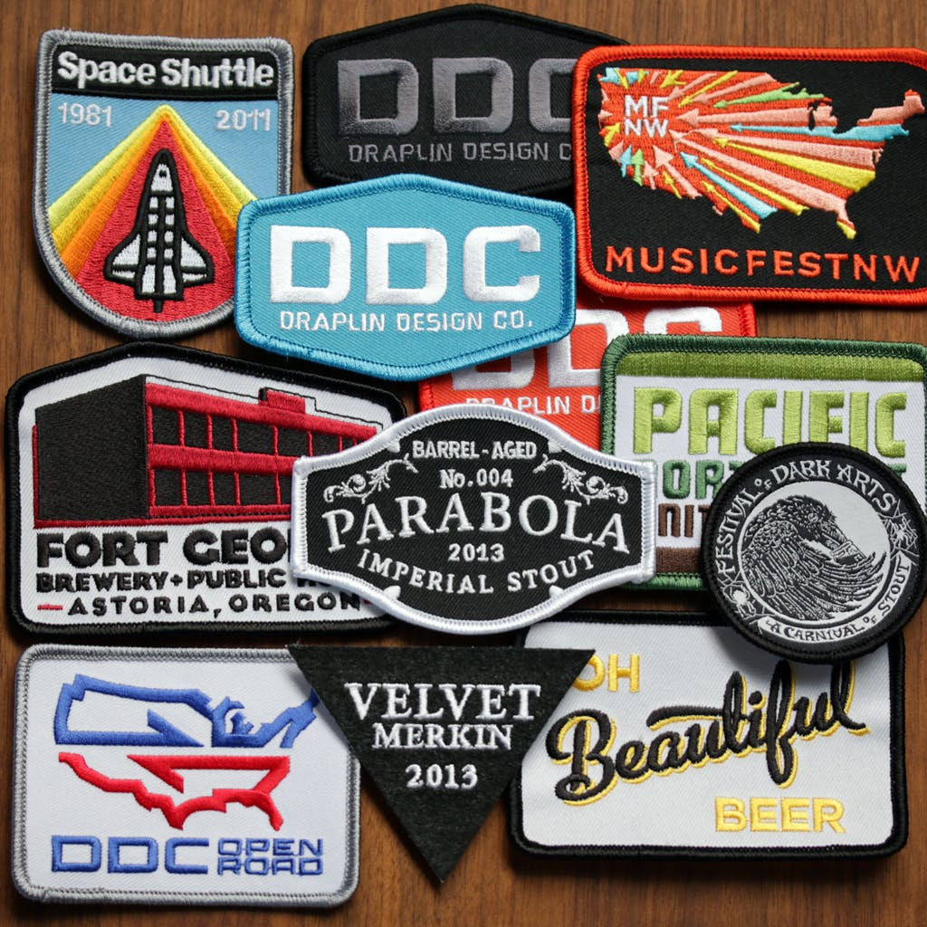 Patches Patches Patches Promotional product sold by Brewery Outfitters