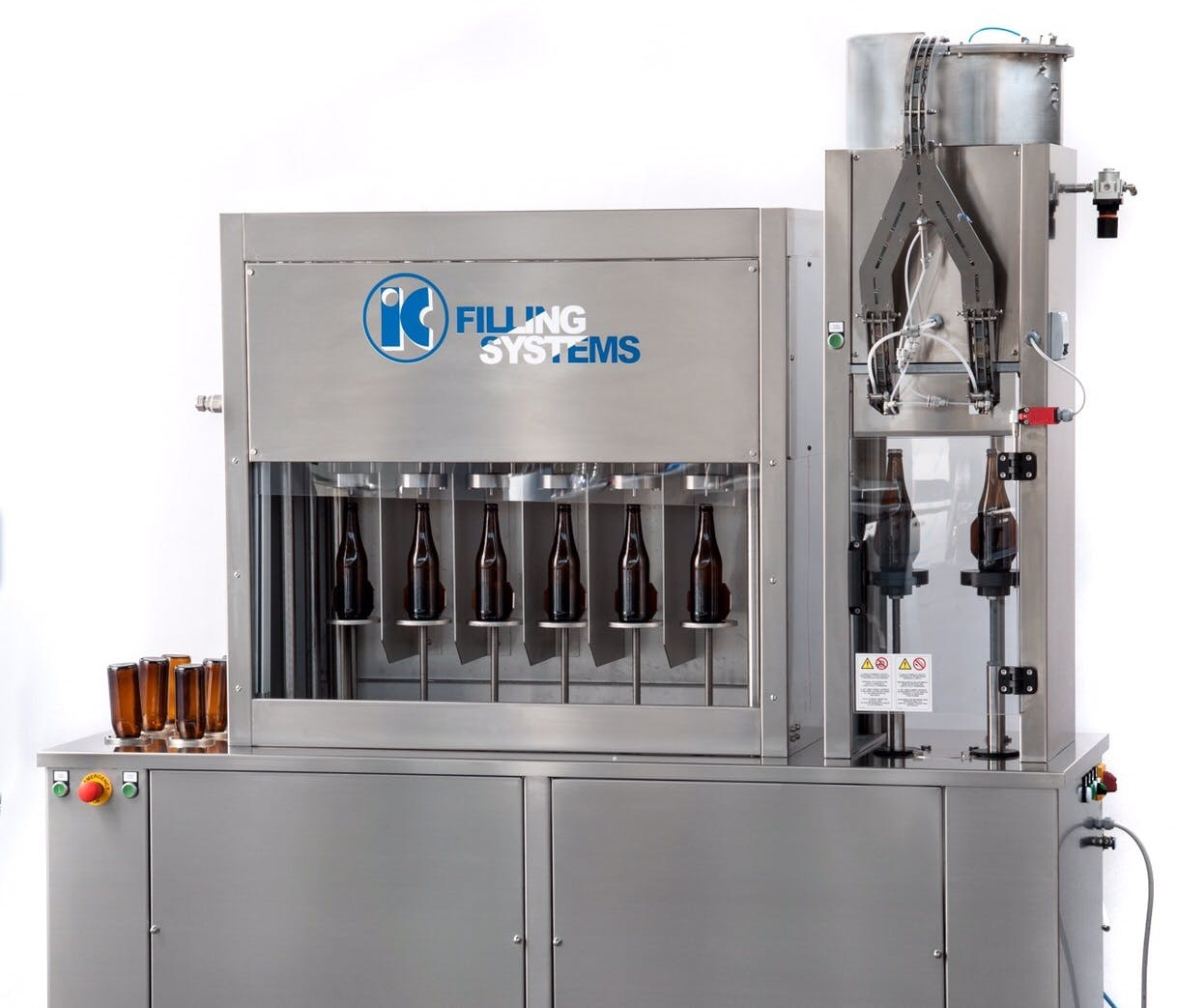 662 RINSER COUNTERPRESSURE FILLER CAPPER FOR BEER Bottle filler sold by IC Filling Systems
