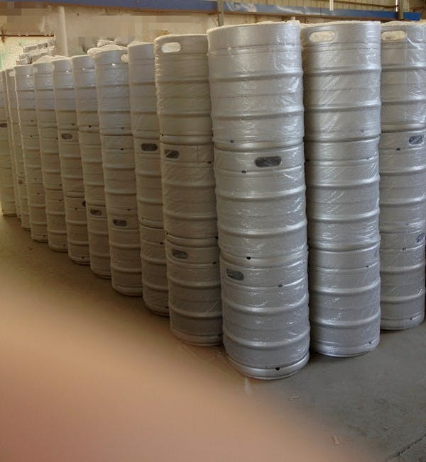 Stainless Steel Kegs With Micro Matic Spears Keg sold by Ink Kegs