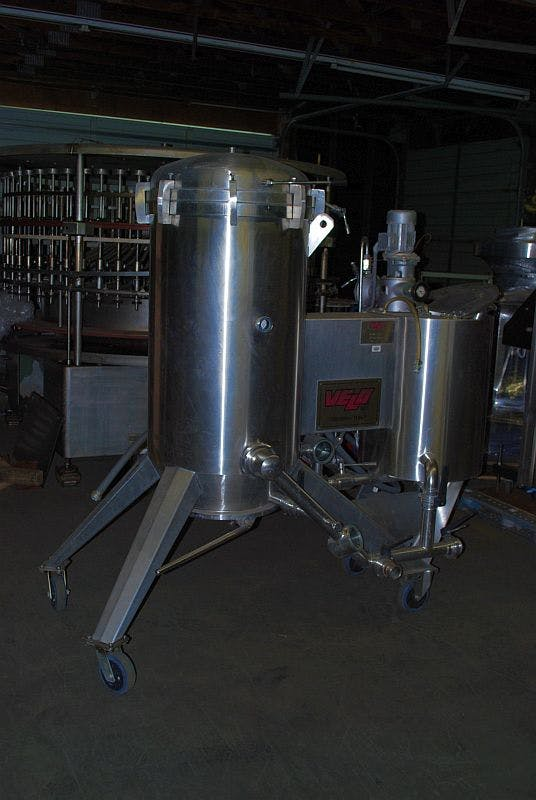 Velo F10EXP DE Filter Wine filtration sold by Ager Tank & Equipment Co.