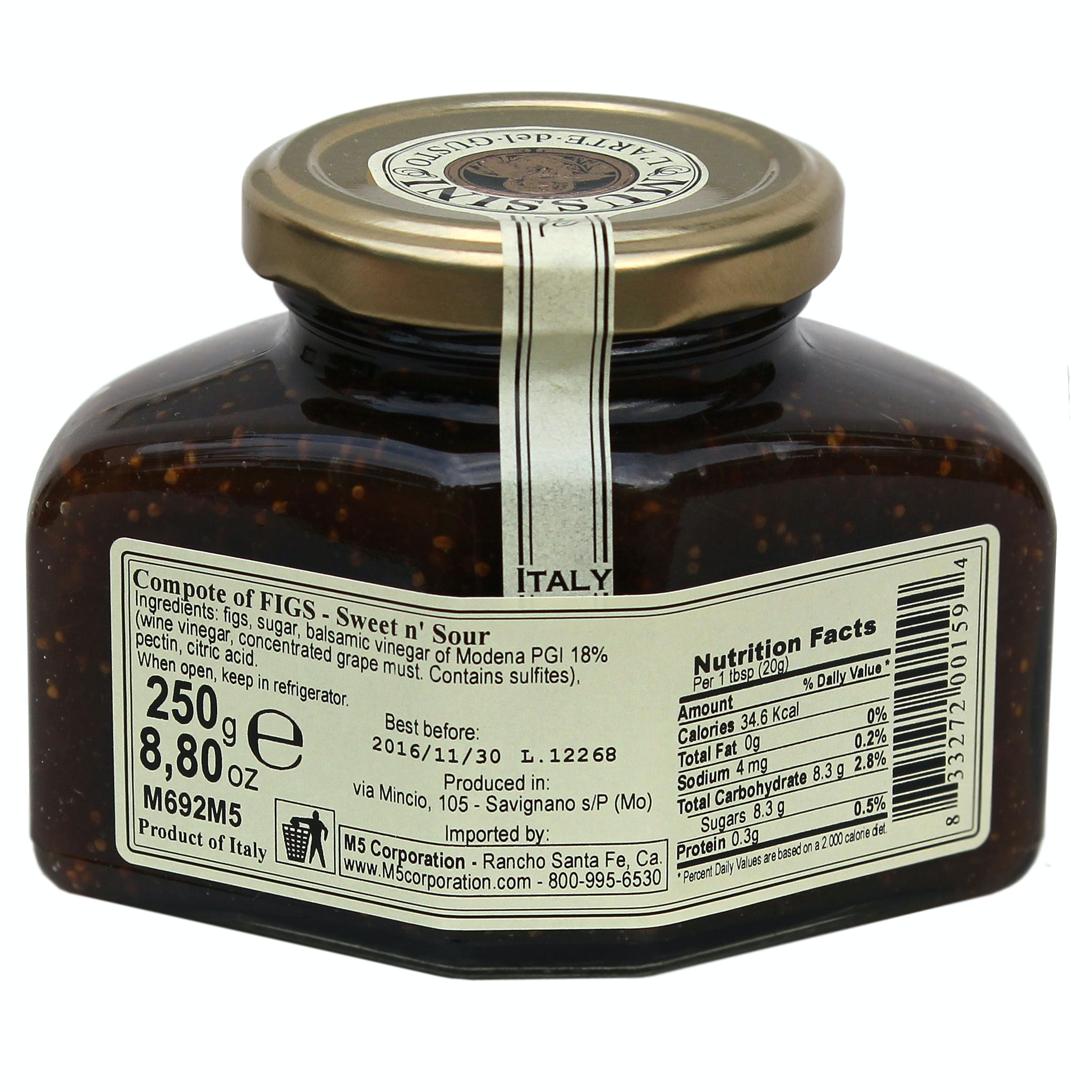 Figs and Balsamic Vinegar Compote - sold by M5 Corporation