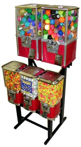SuperPro Combo Toy Vendor Machines Vending machine sold by CandyMachines.com