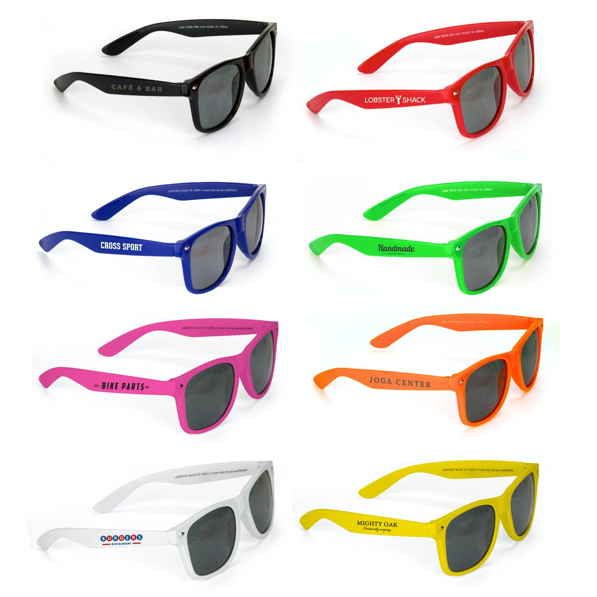 Color Sunglasses (Item # IANIS-IVWID) Custom sunglass sold by InkEasy