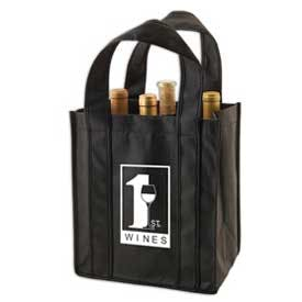 6 Bottle Wine/Beer Tote Bag