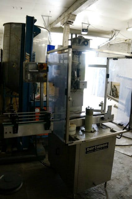 Used Bertalaso S Gloria Single Station Corker - sold by Sigma Packaging
