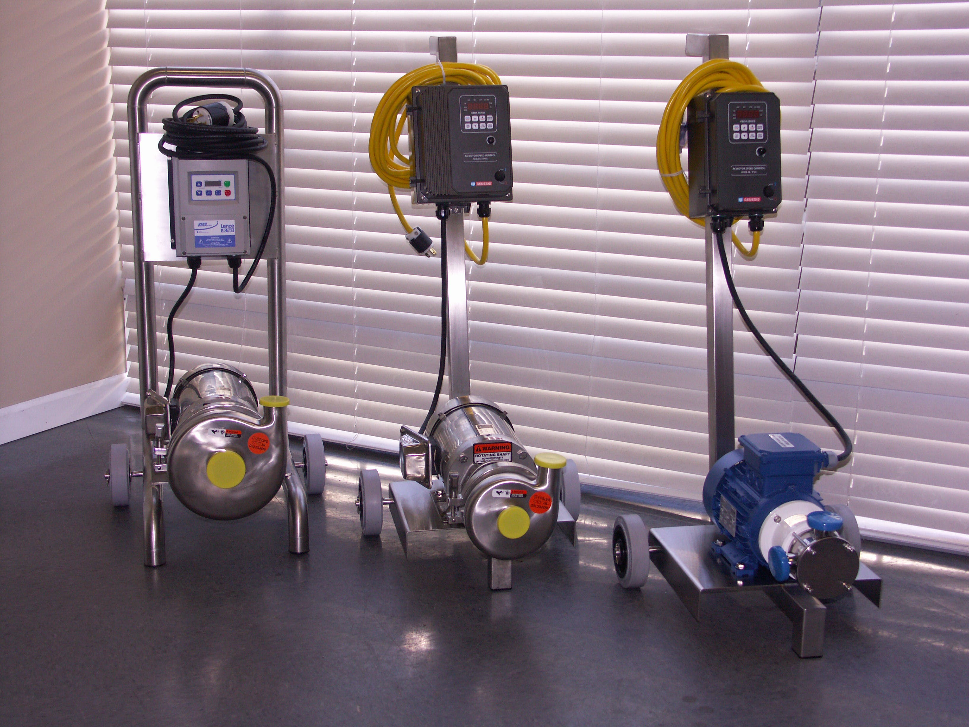 Beer Transfer Pumps Sanitary pump sold by CPE Systems