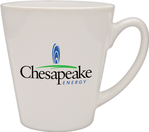 12 oz cafe mug Ceramic mug sold by Luscan Group