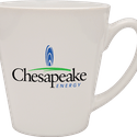 12 oz cafe mug - Ceramic mug sold by Luscan Group