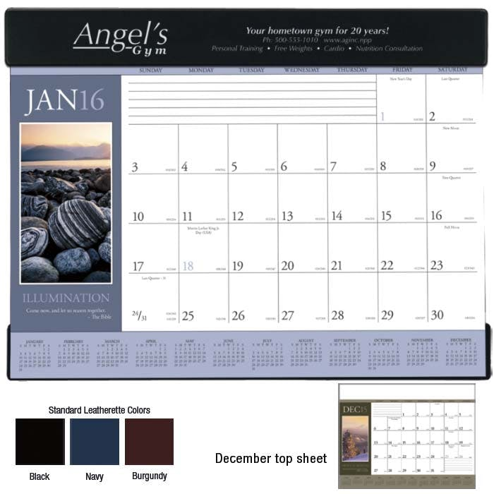 Norwood Promotional Products :: Product :: Motivations Desk Pad Custom calendar sold by Distrimatics, USA