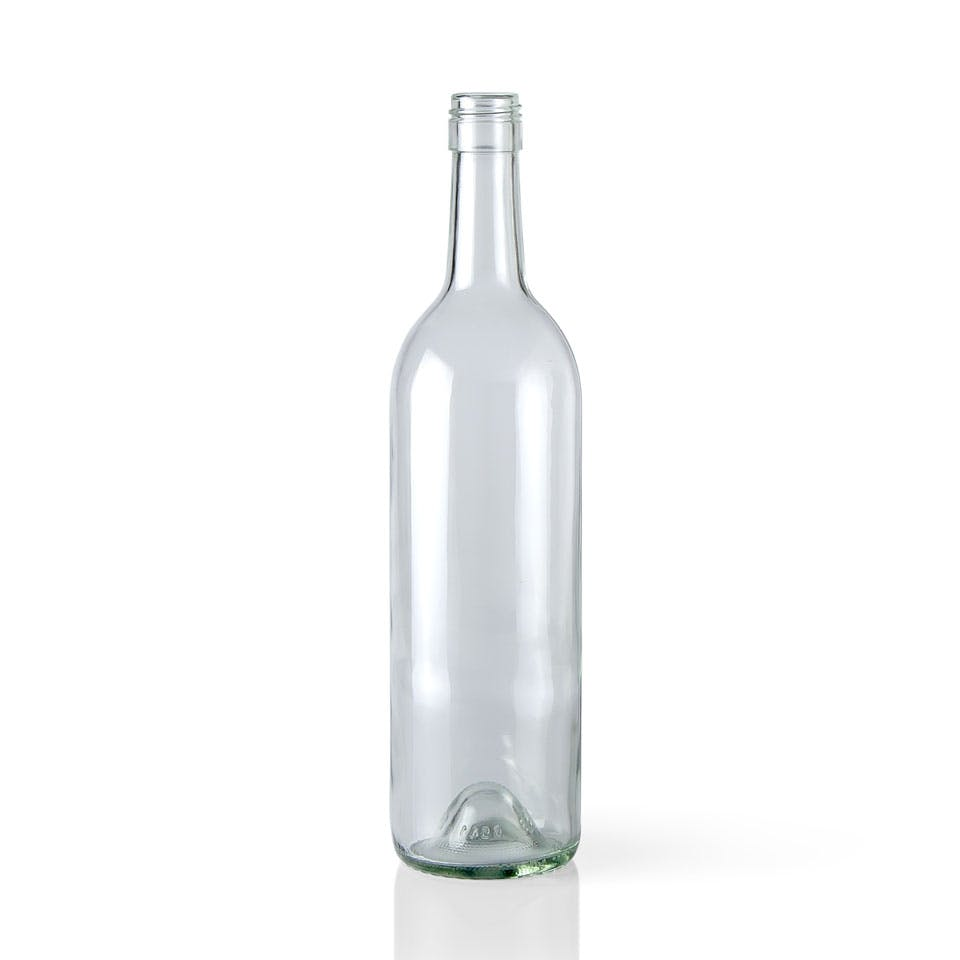 750 ml Clear Glass Claret Wine Bottle (Stelvin) Wine bottle sold by Packaging Options Direct