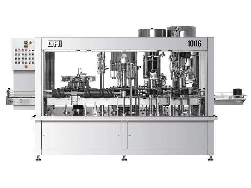 GAI 1006 Bottling machinery sold by Prospero Equipment Corp.