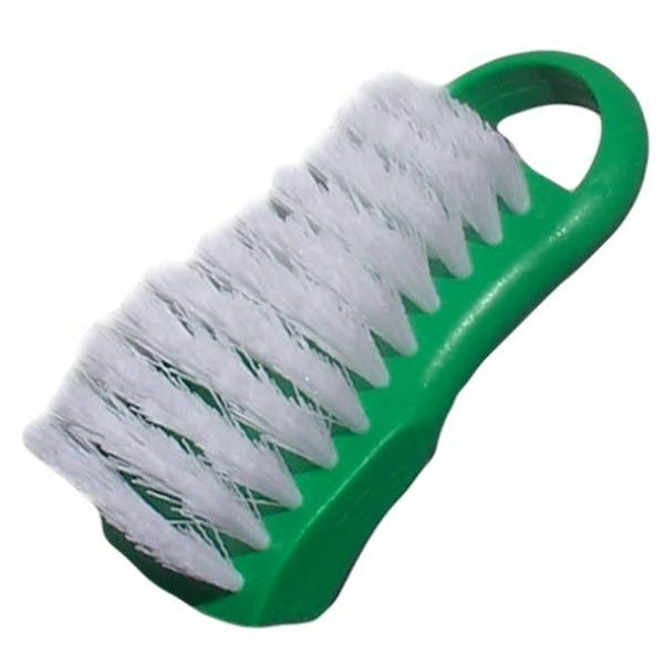 Green Plastic Cutting Board Cleaning Brush