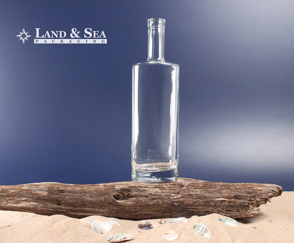 St. Louis Spirit Bottle Liquor bottle sold by Land & Sea Packaging