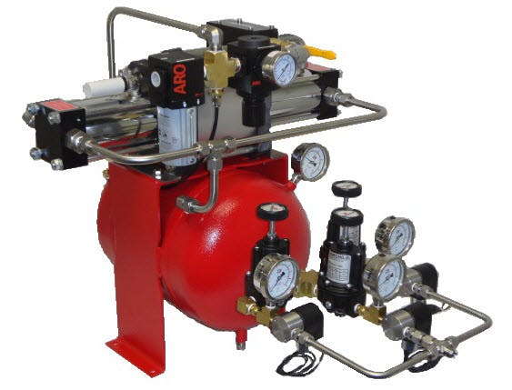 DLA5-15GH-200 Air Amplifier System Air compressor sold by High Pressure Technologies