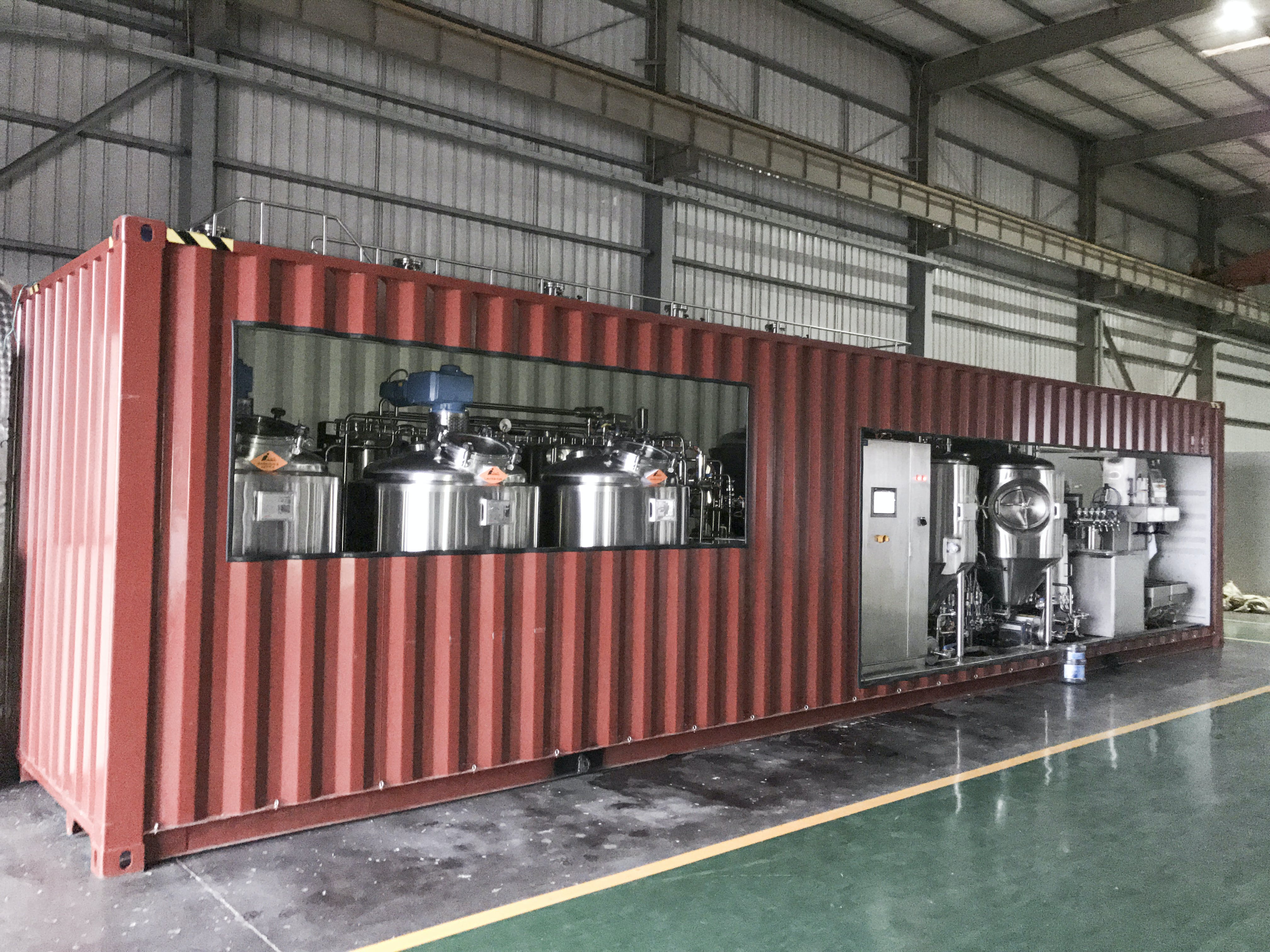 MoBrew - Turnkey 5 HL Brewhouse sold by Lehui Craft