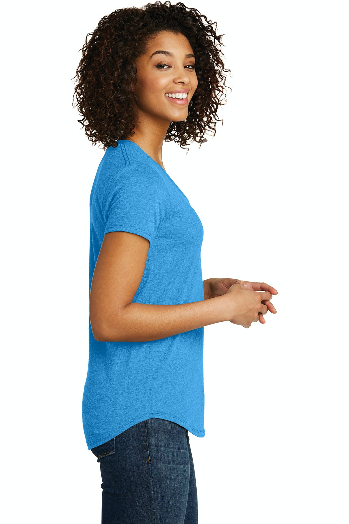 District®  Juniors Scoop Neck Very Important Tee® - sold by PRINT CITY GRAPHICS, INC