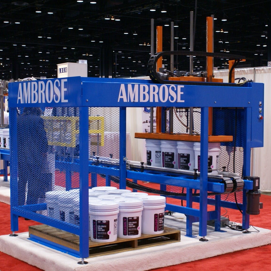 SEE OUR NEW MINI 5 LINE AT THE CHICAGO PACK EXPO IN NOV.   BOOTH N 4804  Custom packaging sold by Ambrose Packaging Systems