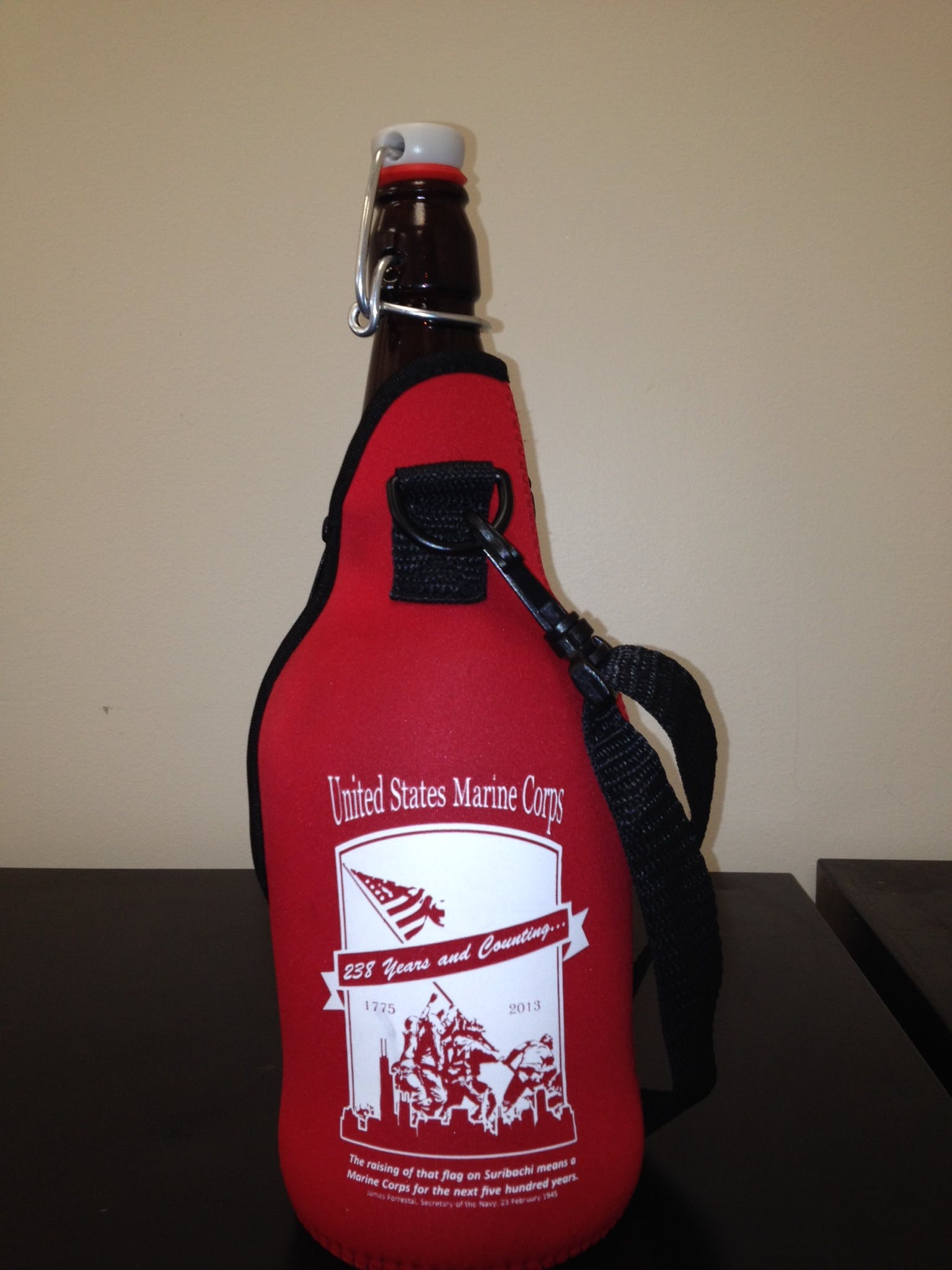 32 oz groozie  Bottle carrier sold by Booker Promotions Inc.