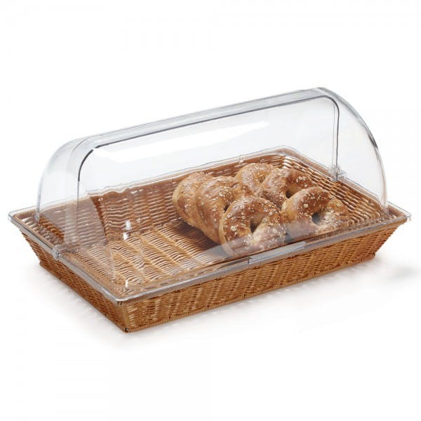 """21"""" x 13"""" Clear Plastic Dome Cover"""