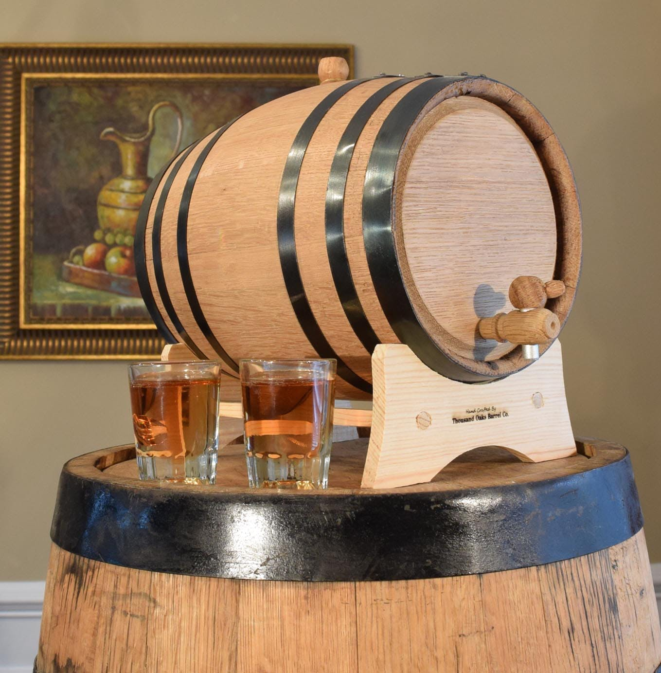 Oak Barrel Whiskey barrel sold by Thousand Oaks Barrel Co.