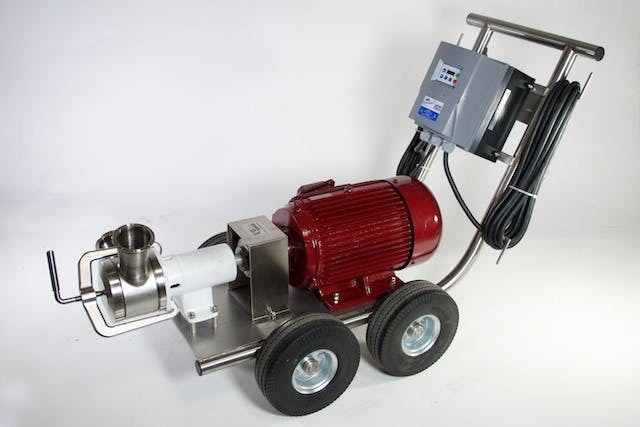 Jabsco SQN-130 Sanitary Pump Must pump sold by The Compleat Winemaker