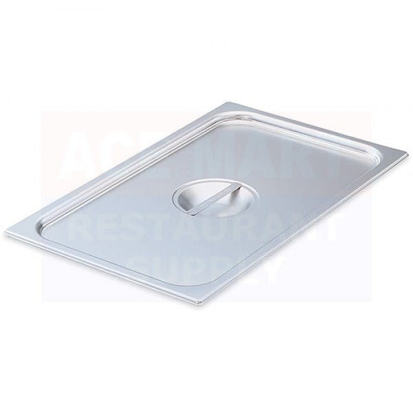 Half Size Stainless Solid Steam Table Pan Cover