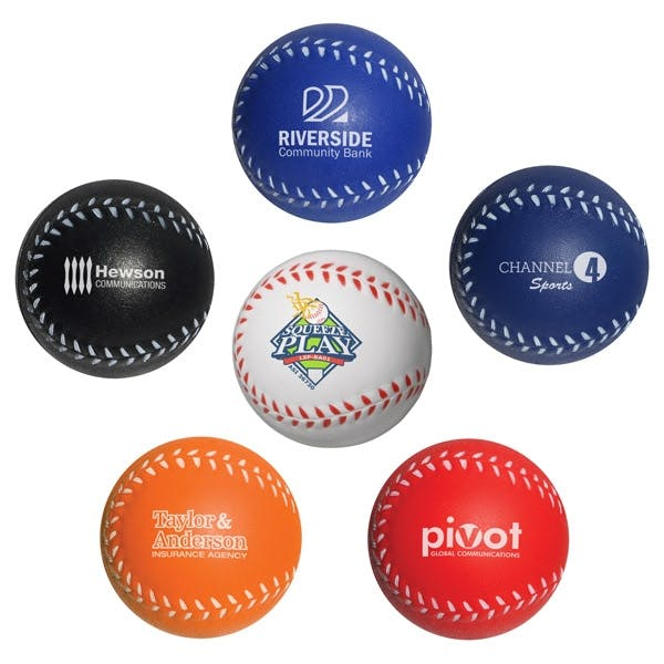 Baseball Stress Reliever (Item # FHKJN-CYYZW) Stress ball sold by InkEasy