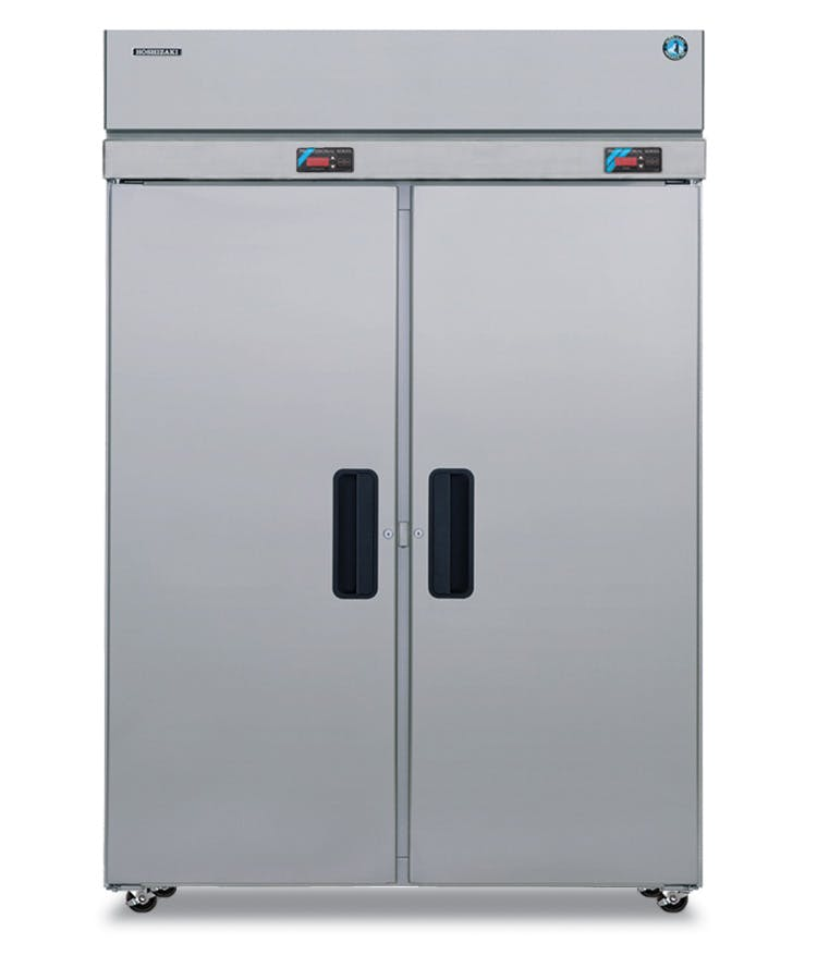Hoshizaki Dual Temp Refrigerator / Freezer Unit (22.3 / 22.3 cu ft)  Commercial refrigerator sold by pizzaovens.com