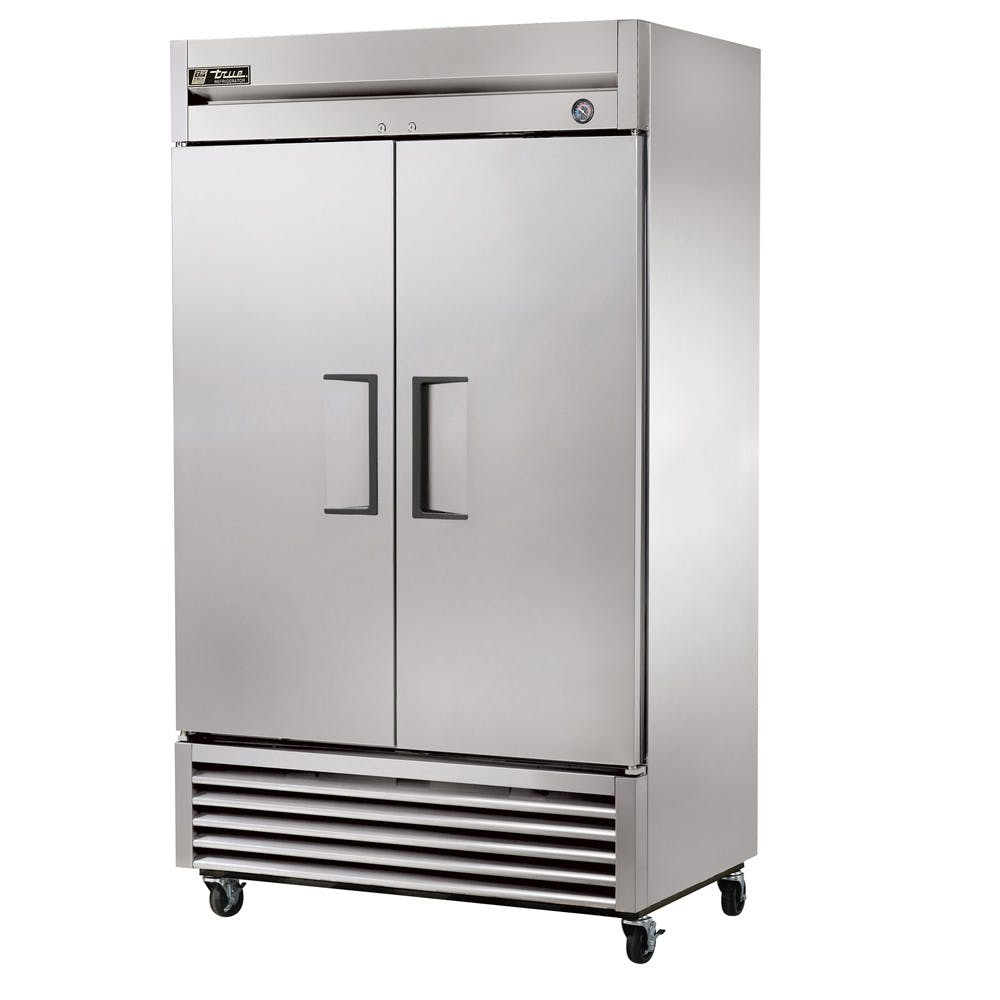 "True T-43F | 47"" Two Door Reach-In Freezer 
