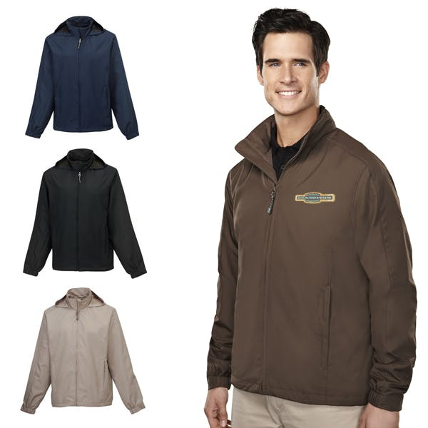 Men Helios/Ladies Eos Jacket Promotional apparel sold by MicrobrewMarketing.com