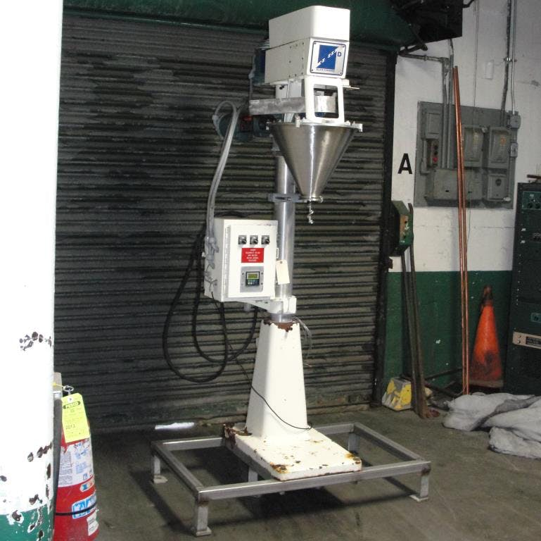 Blair Fuehrer Inc. single head auger filler Filling machine sold by Special Projects International