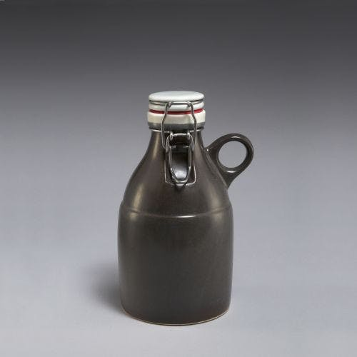 The Loop Growlette - Satin Grey 32oz Growler sold by Portland Growler Company