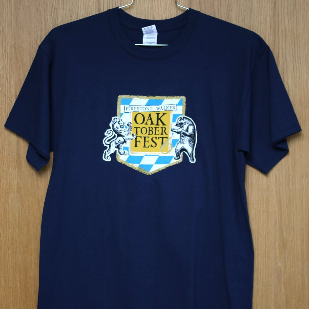 100% cotton promo tee - Firestone Walker Oaktoberfest