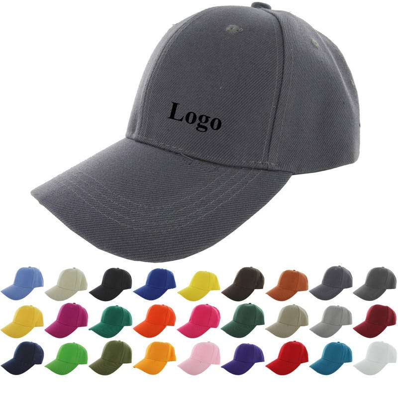 Baseball Cap with Velcro Strap (Item # UJNMQ-JLHDP) Baseball cap sold by InkEasy