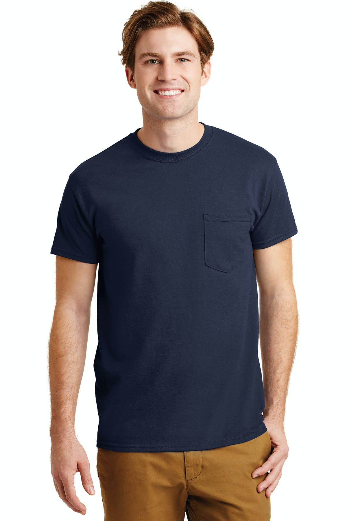 Gildan® - DryBlend® 50 Cotton/50 Poly Pocket T-Shirt