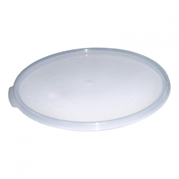 Camwear® Translucent Plastic Lid for 12 - 22 qt. Containers