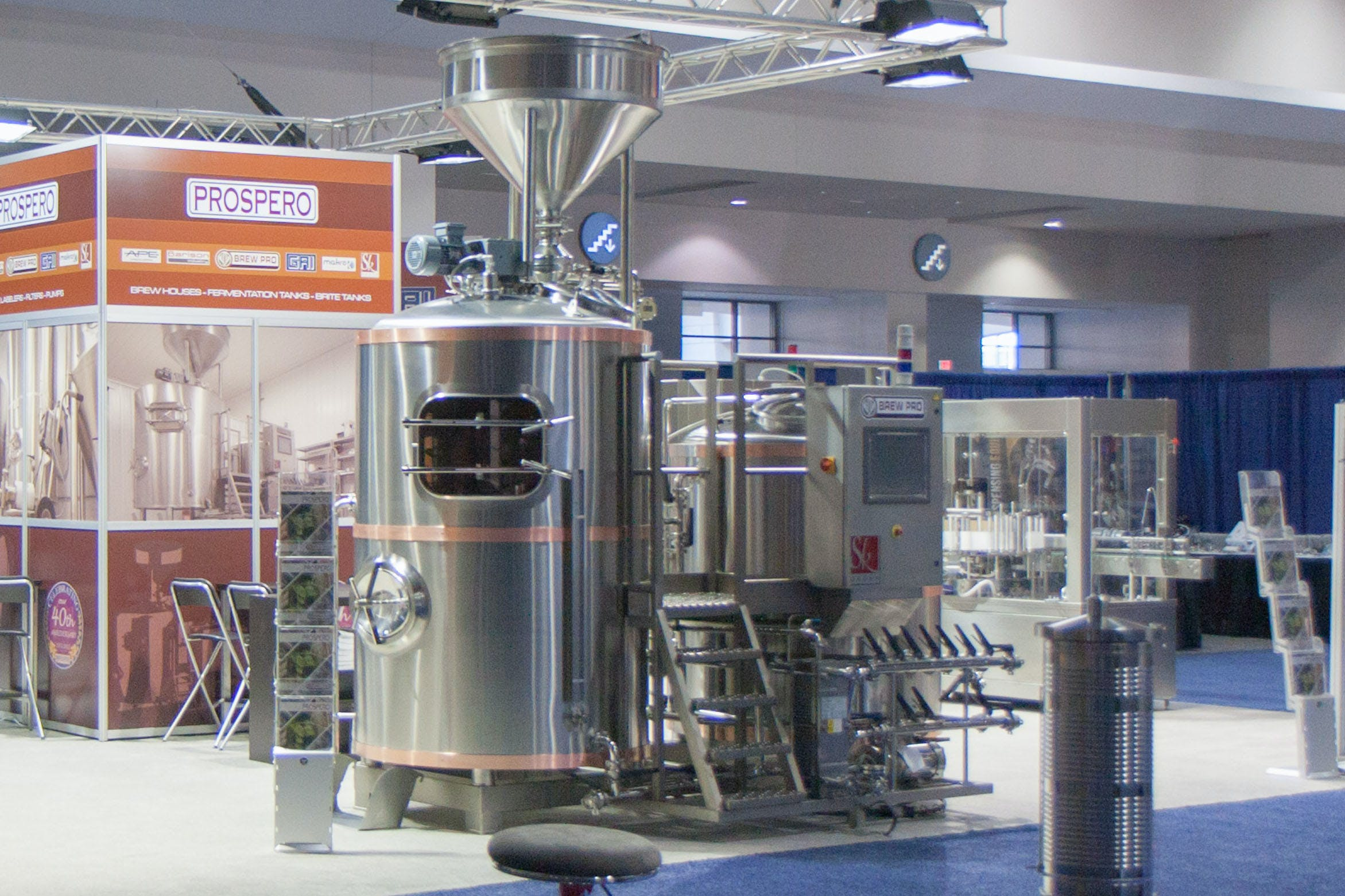 SK BREWHOUSE Brewhouse sold by Prospero Equipment Corp.