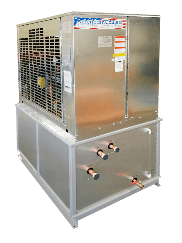 American Chillers Glycol Chillers Glycol chiller sold by American Chillers and Cooling Tower Systems