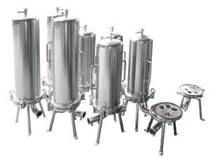 Multi Round Sanitary SS Housings Pharmaceutical filtration equipment sold by Nova Filtration Technologies