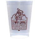 8 oz. Custom Disposable Frost Flex Plastic Cups - Disposable cup sold by Cup of Arms